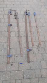 Record sash clamps