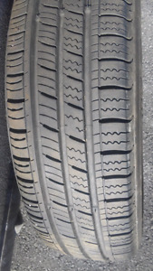 Barely used TA11 155/80 r13 ON RIMS summer tires