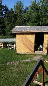 8 x 10 shelters (hemlock one is being traded)