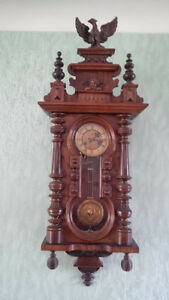 19 TH CENTURY VIENNA WALL CLOCK