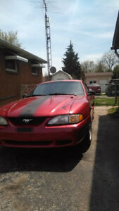 1995 mustang trade for truck