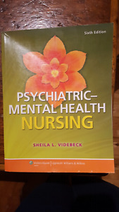 Psychiatric Mental Health  NURSING book
