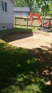 Digger.Diggin mini excavating Stratford Kitchener Area image 3