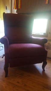 Wingback Reclining Chair