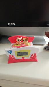 Littlest pet shop alarm clock