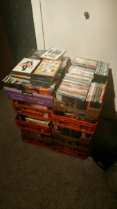 Over 400 DVDs! $200! Firm...