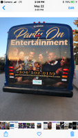 Party On Entertainment Ltd. Limo/Party Bus taking booking