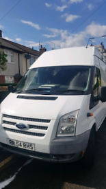 Ford transit long wheel base very high roof