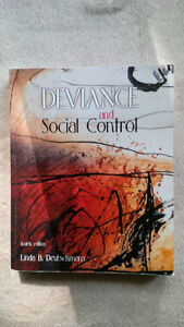 Deviance and Social Control ISBN: 978-0-17-640611-0