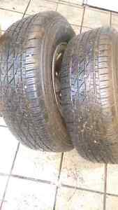 2 brand new ford f150 tires .  255/70/16