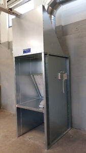 PAINT BOOTH  for small Parts