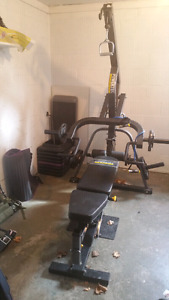 Powertec leverage home gym for trade or sale