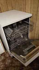 Portable Dishwasher and 5 CU. ft Freezer