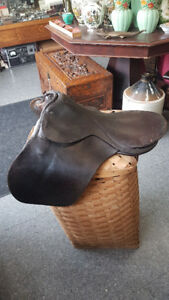 Vintage English Saddle