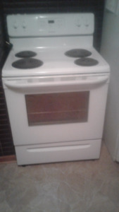 2 year old electric range