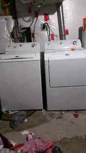 Maytag washer & dryer with stove