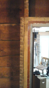 200+ yr old solid oak wood door casing & door frames reclaimed