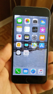 I phone 6 64 g 199$ avec charger