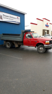 96 f350 4x4 dump truck diesel