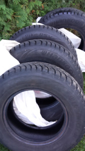 Hankook winter tires/Hankook pneus de hiver