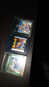 Vintage gameboy color games for sale or trade