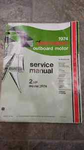 1974 Johnson Outboard Motor Service Manual