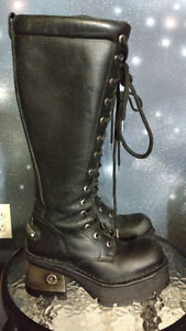 Woman's goth boots