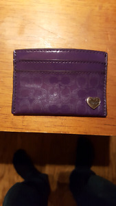 Great Condition Coach Card Carrier/ Change Purse