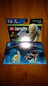 Lego Dimensions Fun Pack 71218 Lord of The Rings LOTR Gollum She