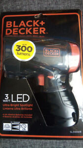 Black & Decker spot light