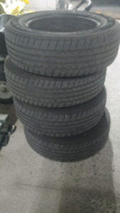 Selling 195/65R15 All Season Tires on Rims