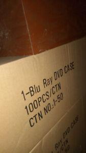 Boitier,case vide de dvd et de blu ray