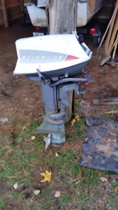Older 20 hp evinrude 2 stroke for parts