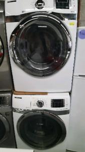 Samsung Front Load Steam Washer & Dryer