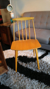**VINTAGE** 1970s Bannister chairs set of 2