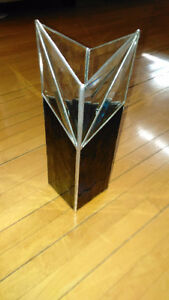 Glass bowl/Stained glass vase/glass large vase