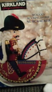 xmas rocking nutcracker