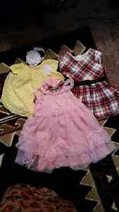 I'M SELLING BBAY GIRL CLOTHES RANGING FROM NEWBORN TO 18 MONTHS