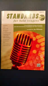 Standards for Solo Singers including CD