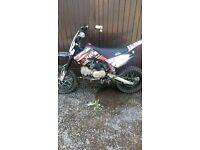 140cc m2r pit bike