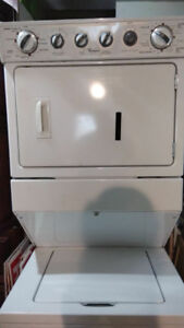 Stackable Washer & Gas Dryer