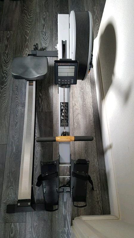 Concept indoor rower model c rowing gym fitness exercise