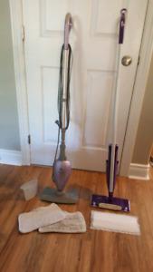 Shark Steam mop and swiffer wetjet