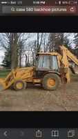Wanted Case 580 Backhoe
