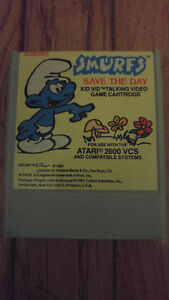 VERY VERY RARE!!! Atari 2600 Smurfs: Save the Day $60