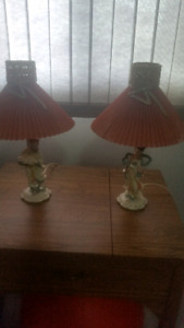Set of  pretty little lamps