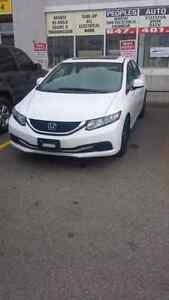 2013 Honda civic.automatic.EX.finance available