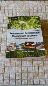 Resource and Environmental Management in Canada Peterborough Peterborough Area image 1
