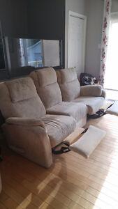 divan et fauteuil elran(négo)