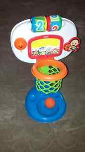 Fisher-Price Brilliant Basics: Dunk 'n Cheer Basketball   Prince George British Columbia image 1